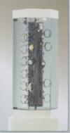 Ganzglas - Uhrenvitrinen