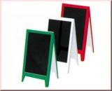 Infoständer, grün oder rot