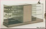 Thekenanlage A mit Glasvitrinen