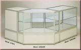 Dreieck-Gitterständer, chrom, 180 x 60 cm