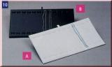 Schmuckeinlagen für Ketten / Armbänder weiß