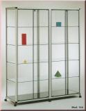 12 Fächer Wandkartenhalter,125 cm Hoch,glanzverzinkt