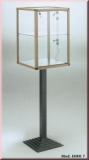 Gitter, 150 x 60 cm, eingefasst, Farbe: schwarz