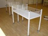 Wühltisch, 120 x 60 x 88 cm, ohne Rollen