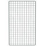 Dekogitter 100 x 60 cm in schwarz