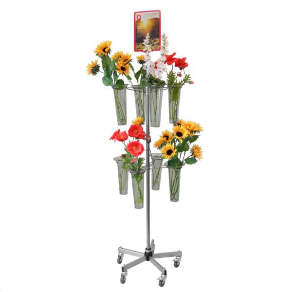 Blumendrehständer, fahrbar