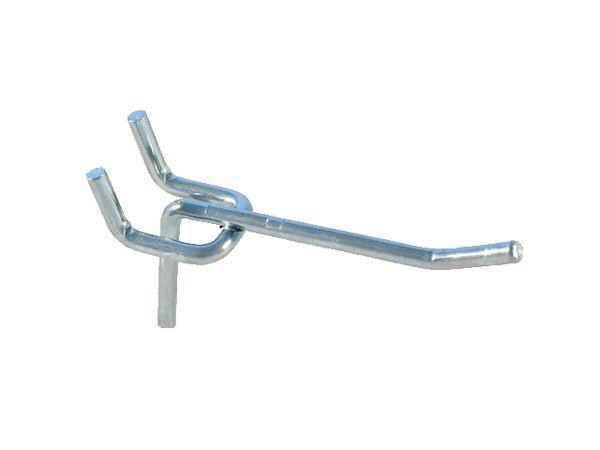 Einfachhaken, Länge: 400 mm, Drahtdurchmesser: 8 mm