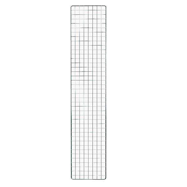 Dekogitter chrom, 200 x 40 cm