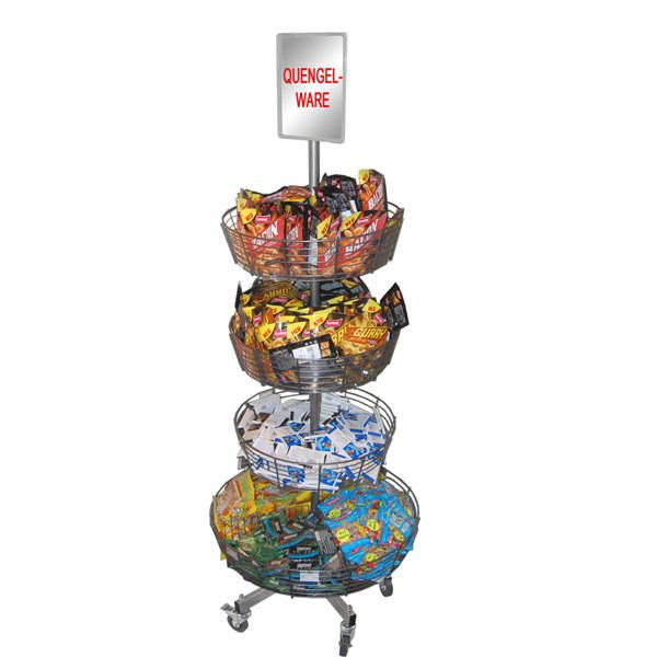 Korbständer mit 4 Rundkörben