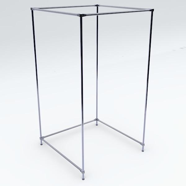 Umkleidekabine freistehend einfach, werkzeugloser Aufbau, 240 x 100 x 100 cm