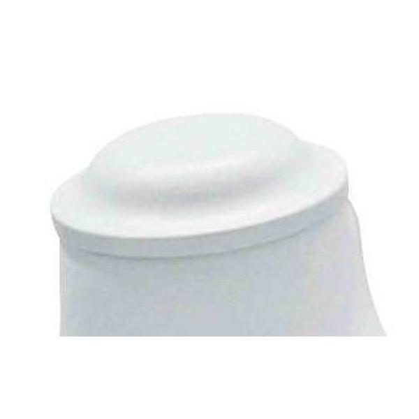 Weißer Halsabschluss für Damenbüste