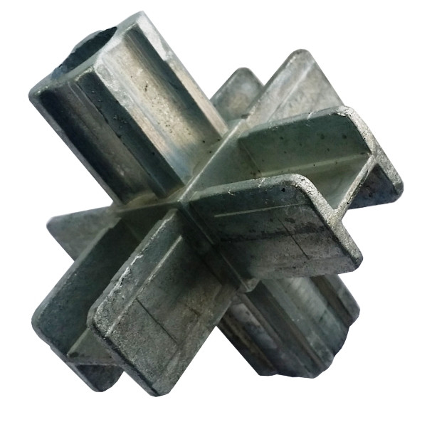 25x25 Vierkant Steckverbinder 6-Weg