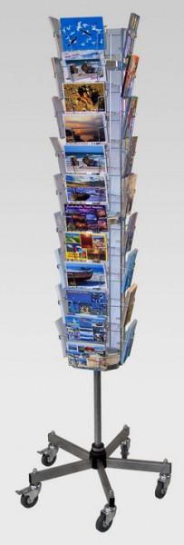Postkartenständer, 42 Kartenfächer