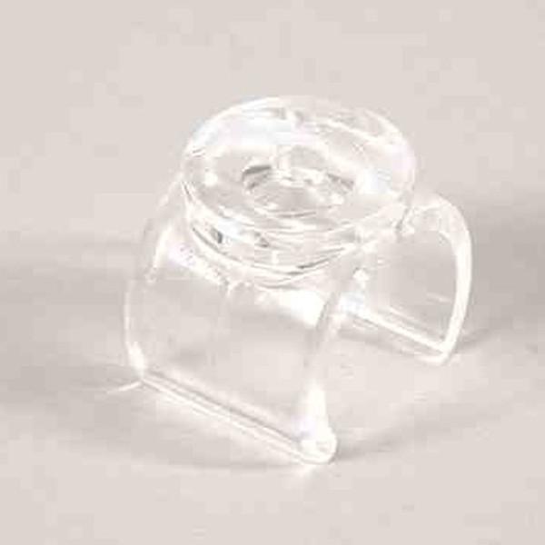 Glasträger-Clip inkl. Sauger