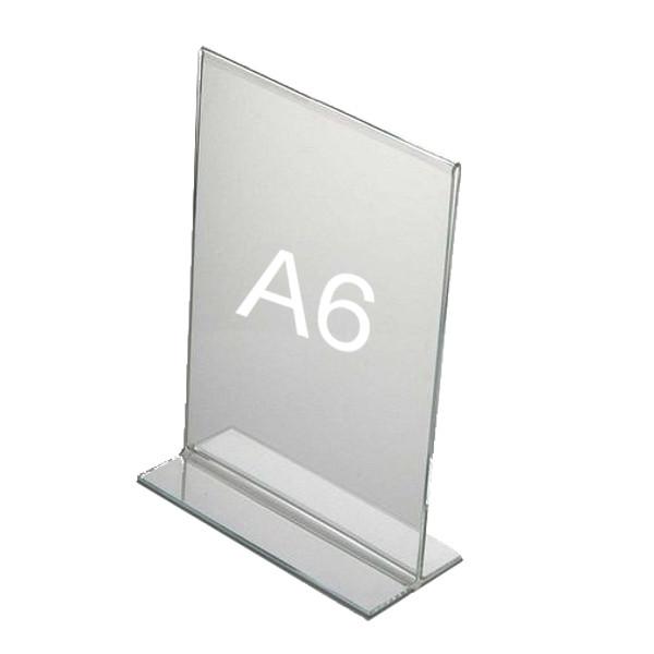 T-Aufsteller, Hochformat A6