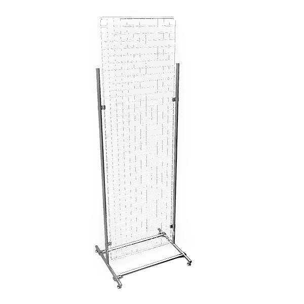 Gitterwand chrom 200 x 60 cm