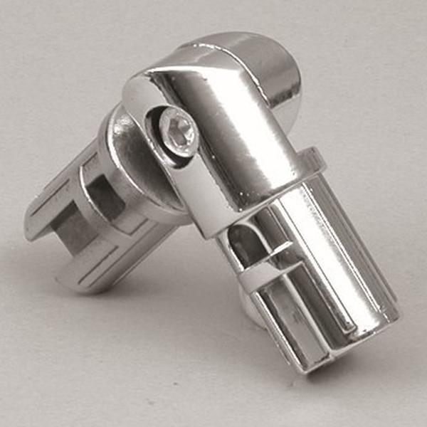 Rohrverbinder für 25 mm Rohr, chrom