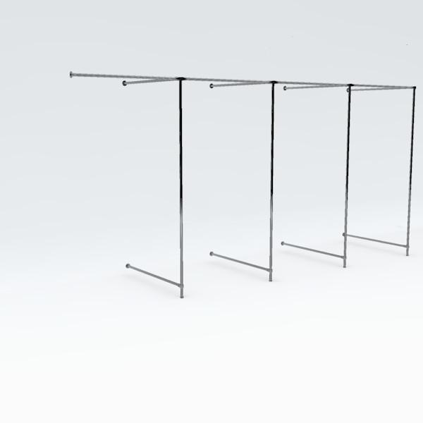 Eck-Umkleidekabine vierfach, Breite: ca. 400 cm