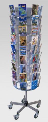 Postkartenständer, 72 Kartenfächer