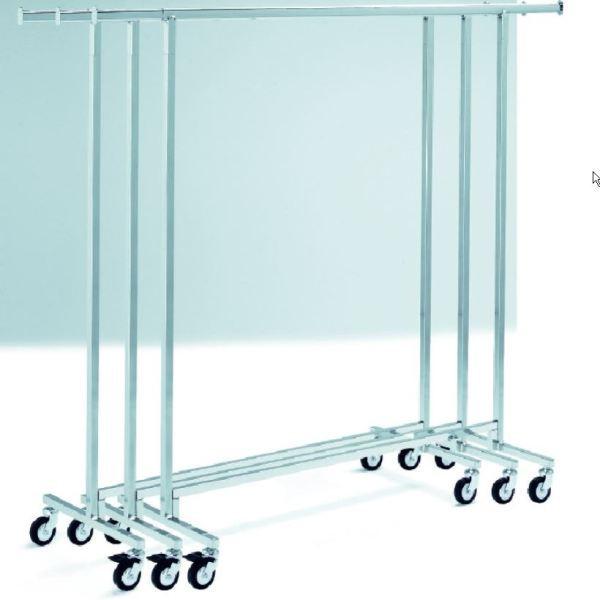 Konfektionsständer 130, feste Höhe 154 cm, stapelbar