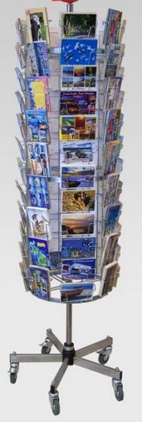 Postkartenständer, 84 Kartenfächer