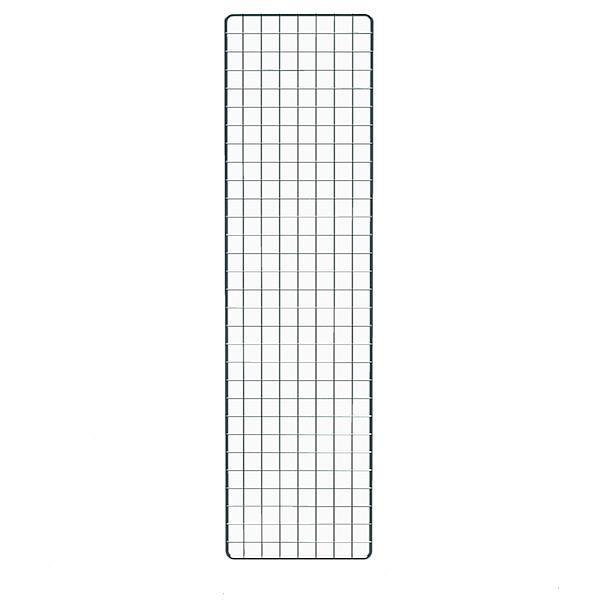 Dekogitter schwarz, 150 x 40 cm