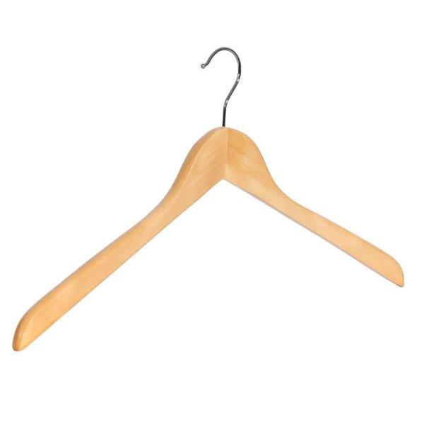 Holz-Kleiderbügel ohne Steg