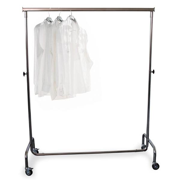 Roll-Kleiderständer 140, höhenverstellbar, 120 kg