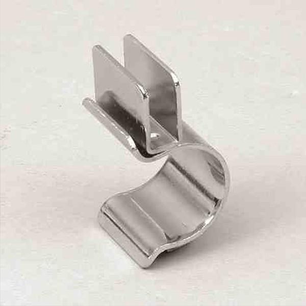 Glashalter Metall für 6 mm Glasplatten