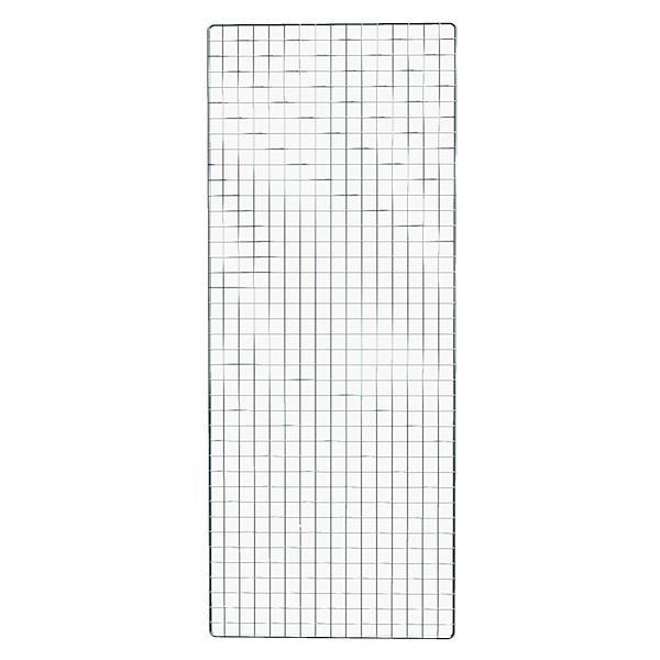Dekogitter 200 x 80 cm in silber