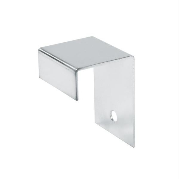 25x25 Vierkant Wandhalter, chrom