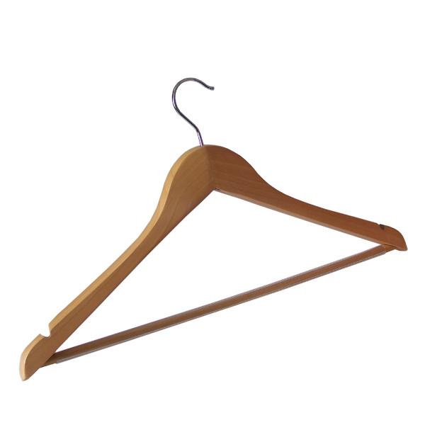 Holz-Kleiderbügel mit Steg