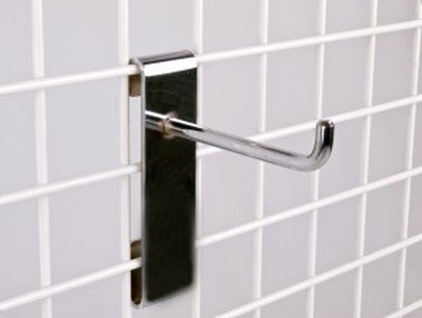 Schwerlast-Einfachhaken in chrom, Länge: 300 mm