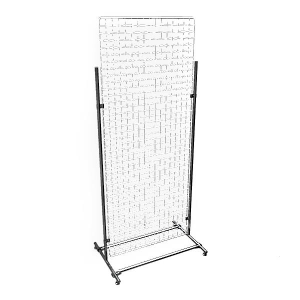Gitterwand chrom 200 x 80 cm